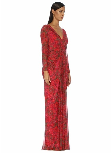 Tadashi Shoji Elbise Kırmızı